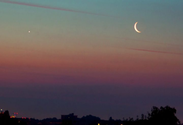 Caminhando com a lua