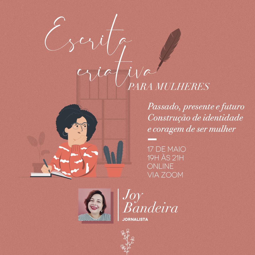 Oficina de escrita criativa para mulheres
